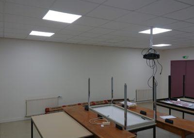 Installation d'un faux plafond pour un bureau à Caen (Calvados-14)