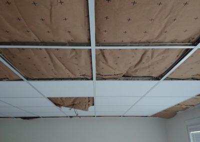 Installation d'un faux plafond à Caen (Calvados-14)