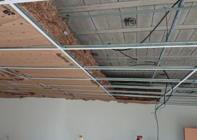Isolation d'un faux plafond à Caen (Calvados-14)