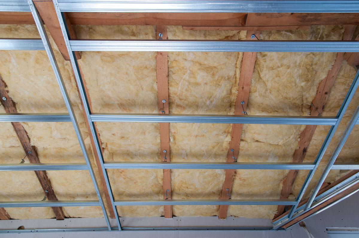 isolation de plafond d'une maison à Caen (Calvados-14)