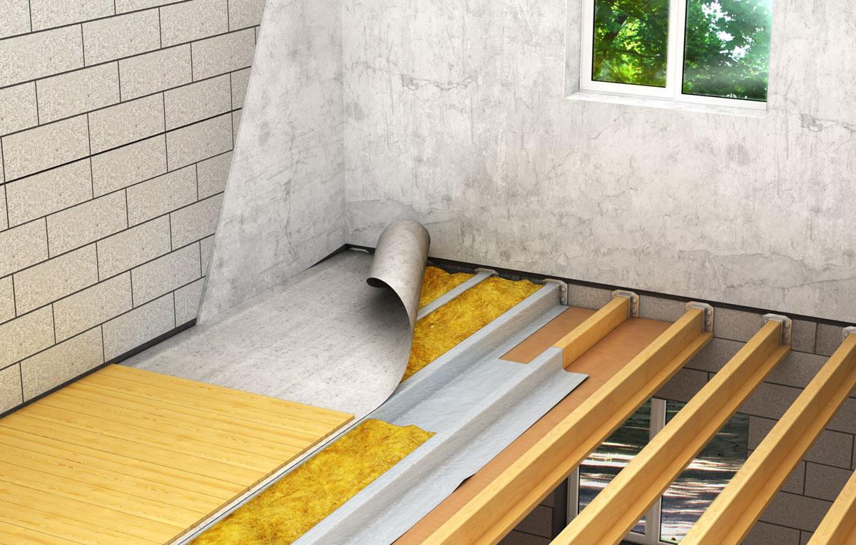 isolation plancher d'une maison à Caen (Calvados -14)